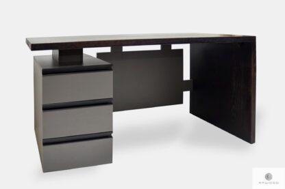 Modern Schreibtisch mit Schubladen ins Arbeitzimmer BOSS