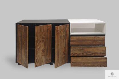 Designer Kommode im skandinavischen Stil ins Arbeitzimmer Büro BERGEN I Mobelhersteller RaWood Premium Mobel