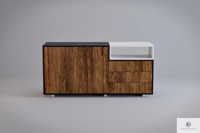 Designer Kommode im skandinavischen Stil ins Arbeitzimmer Buro BERGEN I finden Sie uns auf https://www.facebook.com/RaWoodpl/