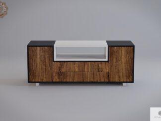 Moderne hölzerne TV Schrank ins Wohnzimmer BERGEN finden Sie uns auf https://www.facebook.com/RaWoodpl/