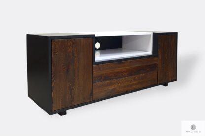 Modern TV Schrank aus Massivholz ins Wohnzimmer Zimmer BERGEN