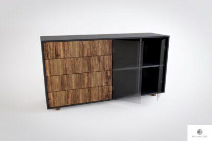 Holzkommode mit Schubladen ins Wohnzimmer Arbeitzimmer CARLA Mobelhersteller RaWood Premium Mobel