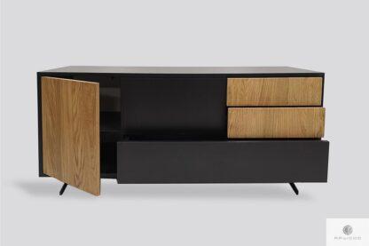 Modern Holz TV Schrank ins Wohnzimmer CARLA