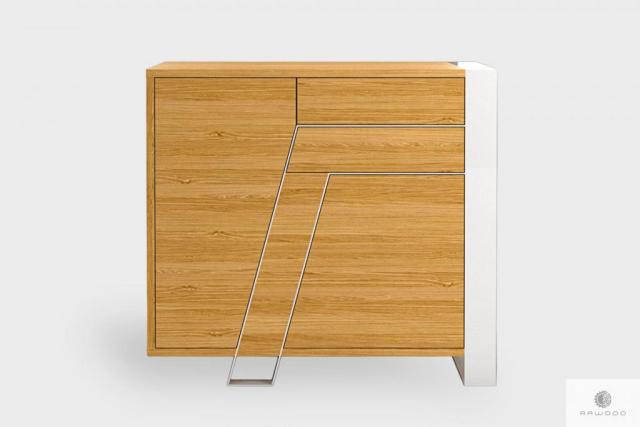 Moderne Eiche Kommode aus Massivholz ins Wohnzimmer BORA