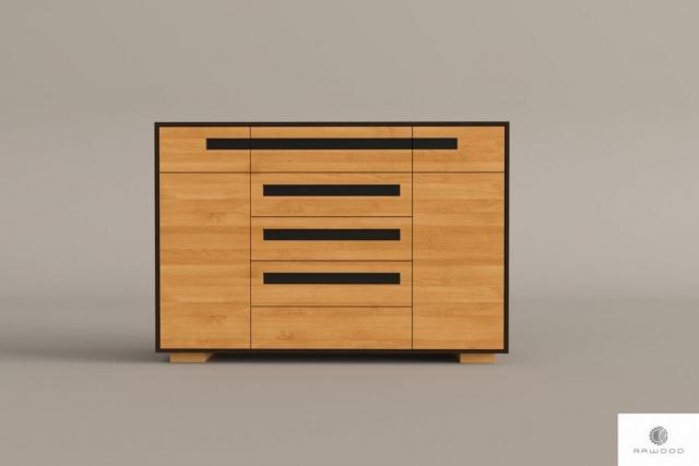 Holzkommode mit Schubladen ins Wohnzimmer Zimmer LAGOS I finden Sie uns auf https://www.facebook.com/RaWoodpl/