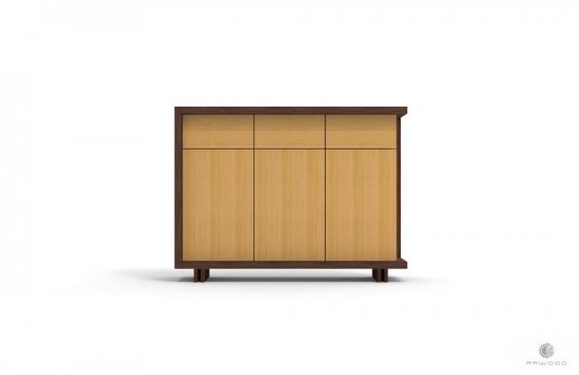 Moderne Kommode mit Schubladen auf Holzbeinen NESTON finden Sie uns auf https://www.facebook.com/RaWoodpl/