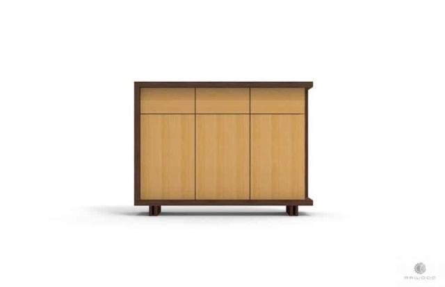 Moderne Kommode mit Schubladen auf Holzbeinen NESTON Möbelhersteller RaWood Premium Möbel