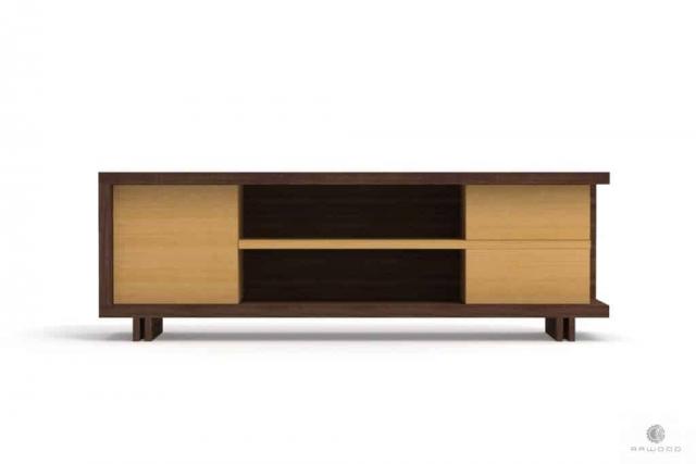 TV Schrank aus Holz und laminierten Platten ins Wohnzimmer NESTON Mobelhersteller RaWood Premium Mobel