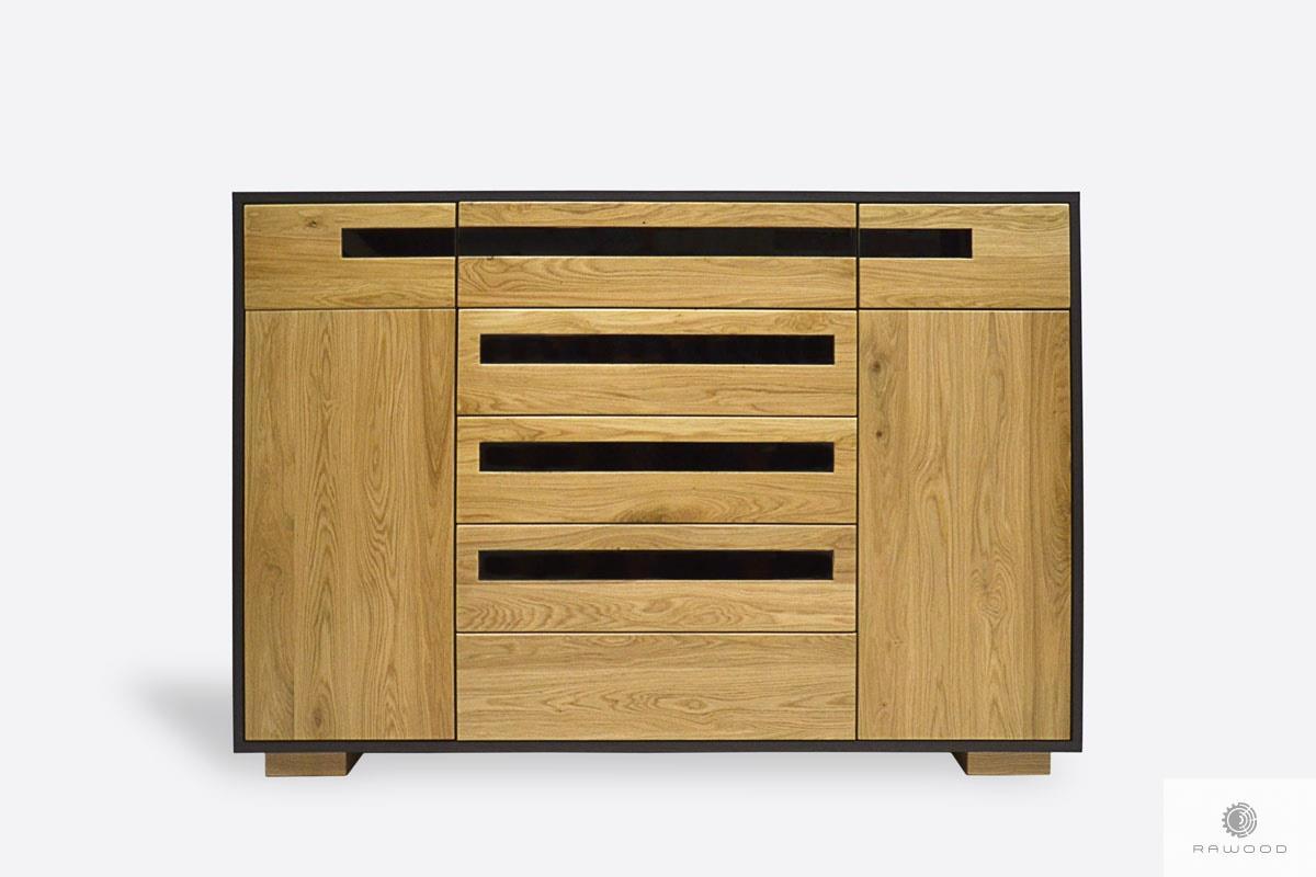 Holzkommode mit Schubladen ins Wohnzimmer Zimmer LAGOS I