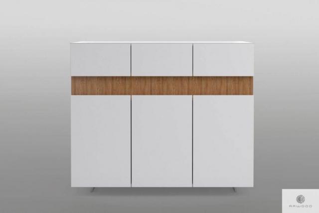 Weiße Kommode mit Massivholz ins Wohnzimmer DORIS Mobelhersteller RaWood Premium Mobel