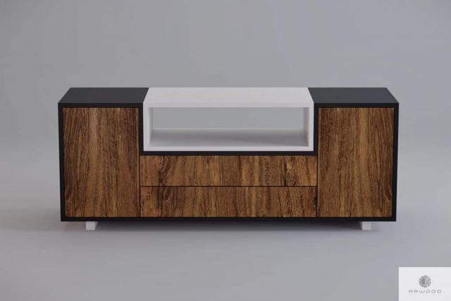 Moderne hölzerne TV Schrank ins Wohnzimmer BERGEN Mobelhersteller RaWood Premium Mobel