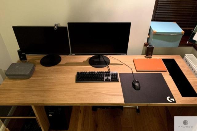 Modern Eiche Schreibtisch ins Arbeitzimmer MOCCA