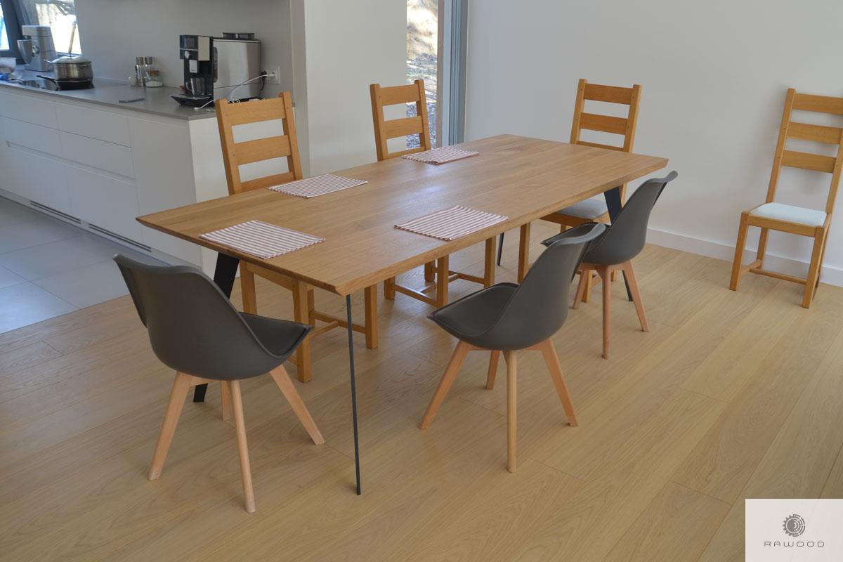 Industrielle Eiche Tisch auf Dimension ins Wohnzimmer VITA