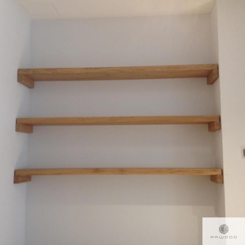 Holz Wandregale aus Massivholz ins Arbeitzimmer