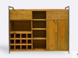 Industrielle Barschrank aus Holz ins Esszimmer Wohnzimmer Küche