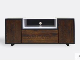 Modern Holz TV Schrank ins Wohnzimmer BERGEN