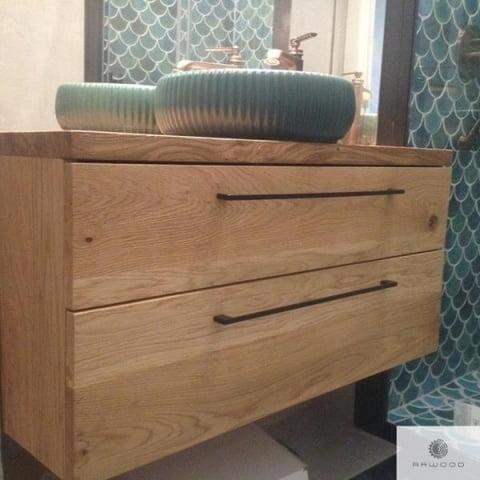 Eiche Badschrank aus Massivholz ins Badezimmer