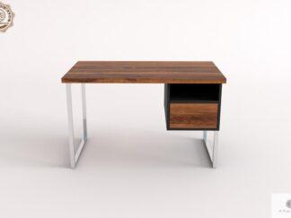 Schreibtisch aus altem Holz ins Büro Kanzlei NESCA II finden Sie uns auf https://www.facebook.com/RaWoodpl/