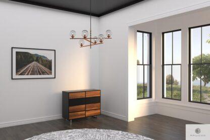 Elegante Kommode aus Massivholz ins Wohnzimmer NESCA II Mobelhersteller RaWood Premium Mobel