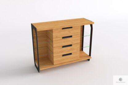 Eichen Kommode mit Schubladen aus Massivholz ins Wohnzimmer WALT Mobelhersteller RaWood Premium Mobel