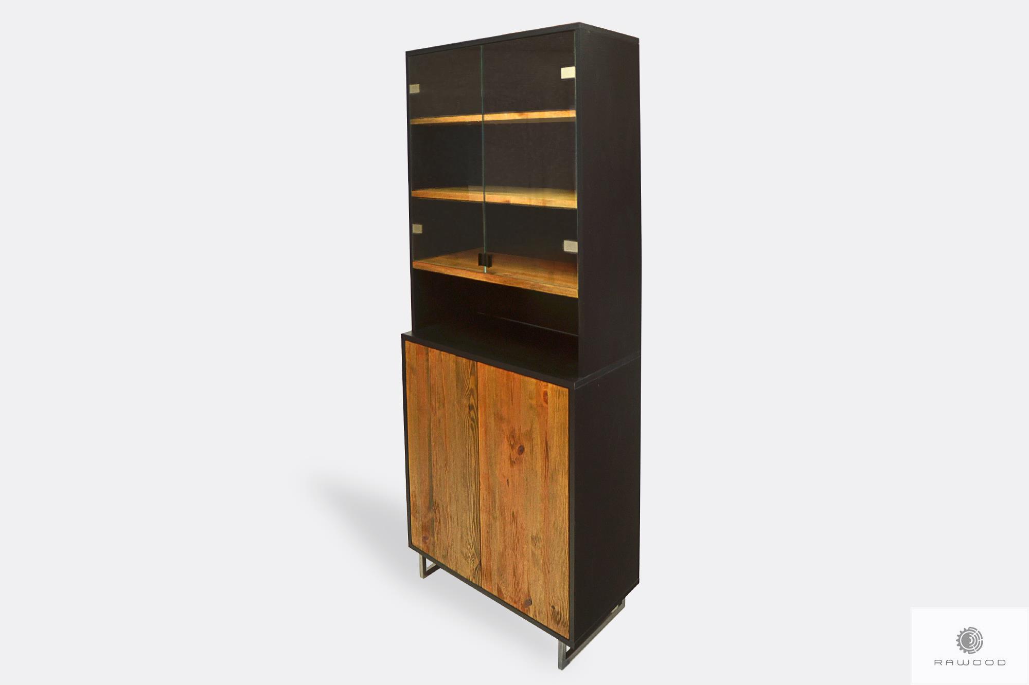 Elegante Standvitrine Anrichte Aus Massivholz Nesca Ii Hersteller