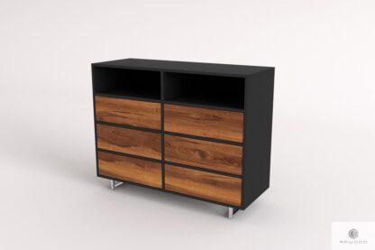Moderner Kommode aus Massivholz mit Schubladen ins Wohnzimmer NESCA II Möbelhersteler RaWood Premium Möbel