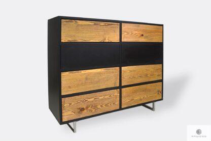 Modern Holzkommode mit Schubladen ins Schlafzimmer NESCA II
