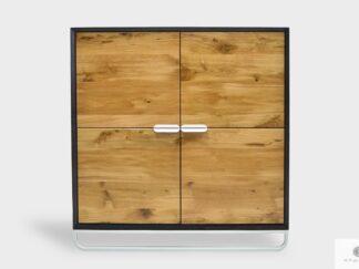 Holz Kommode mit Schubladen ins Wohnzimmer DENIS