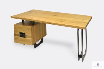 Modern Eiche Computertisch für Büro WALT