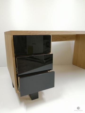 Eiche Schreibtisch ins Arbeitzimmer MOCCA finden Sie uns auf https://www.facebook.com/RaWoodpl/