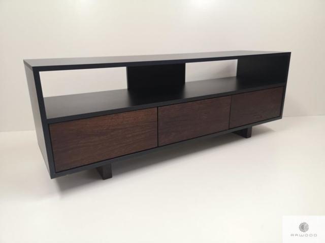 Industrielle TV Schrank aus Holz ins Wohnzimmer NESCA I finden Sie uns auf https://www.facebook.com/RaWoodpl/