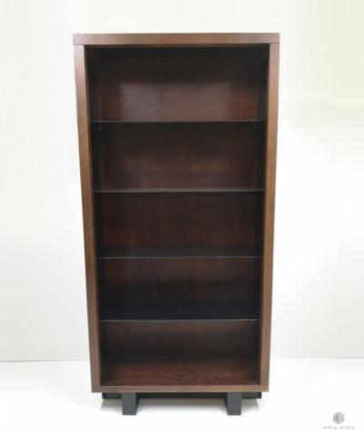 Rustikale Eichen Vitrine Bücherregal ins Wohnzimmer Arbeitzimmer MOCCA finden Sie uns auf https://www.facebook.com/RaWoodpl/
