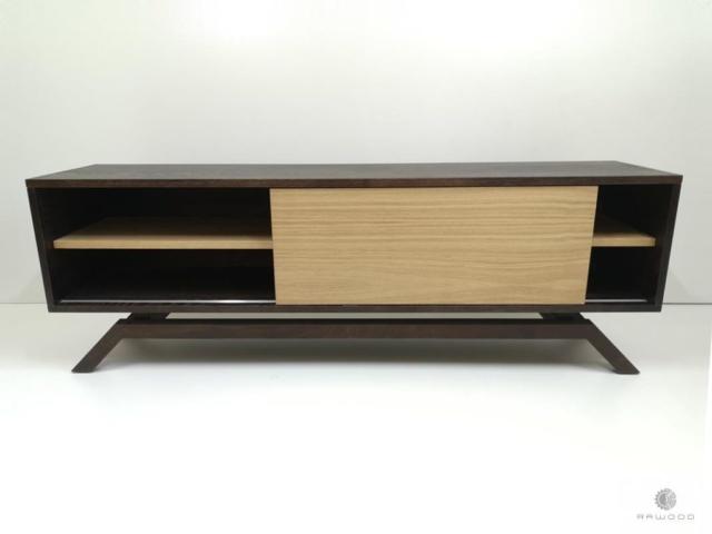 Modernes Fernsehschrank ins Wohnzimmer CLEO finden Sie uns auf https://www.facebook.com/RaWoodpl/