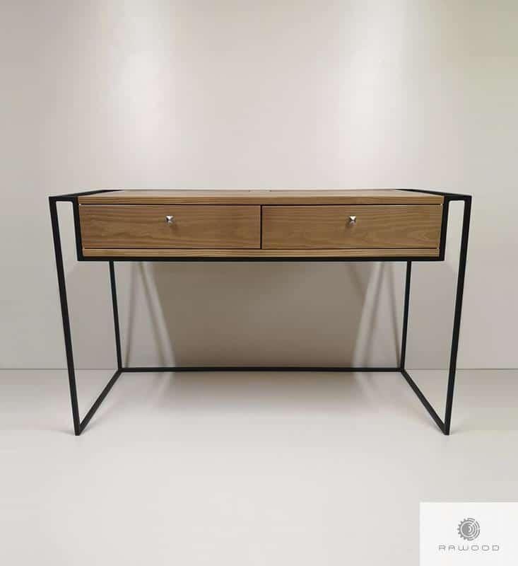 Industrielle Schreibtisch aus altem Massivholz ins Arbeitzimmer finden Sie uns auf https://www.facebook.com/RaWoodpl/