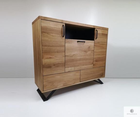Modern Kommode aus Massiveichenholz ins Wohnzimmer finden Sie uns auf https://www.facebook.com/RaWoodpl/