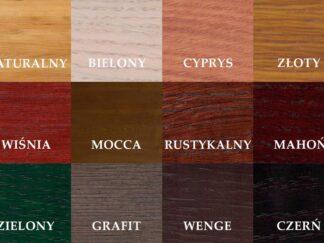 Muster von Holzfarben