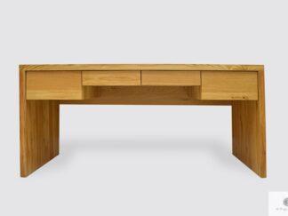 Modern Eiche Schreibtisch mit Schubladen ins Büro DAVOS