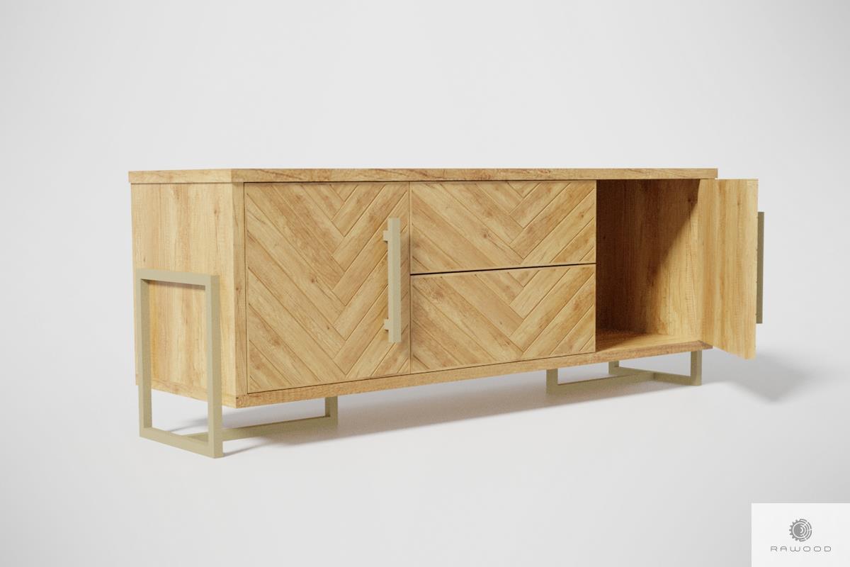 Modern Tv Schrank Aus Holz Mit Fischgratenmuster Carin Hersteller