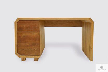 Groß Eiche Schreibtisch mit Schubladen ins Arbeitzimmer Büro OMNIS I