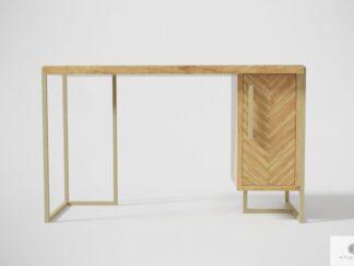 Modern Schreibtisch aus Massiveichenholz ins Büro CARIN