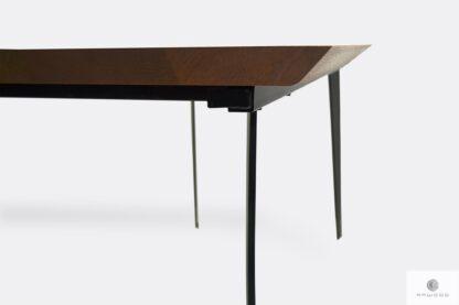 Eiche Tisch mit Schweizer Kanten auf Bestellung ins Esszimmer CORTEZ