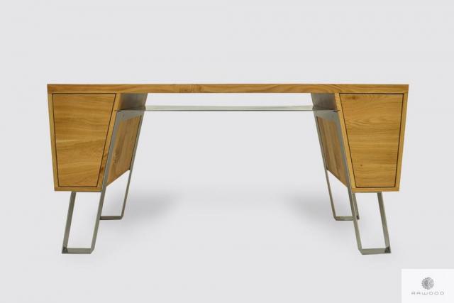 Moderne Schreibtisch aus Holz ins Büro BORA I