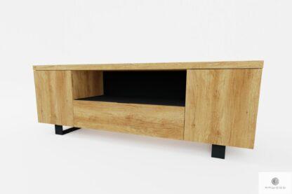 Holz industrielle Fernsehschrank unter TV ins Wohnzimmer DELIO