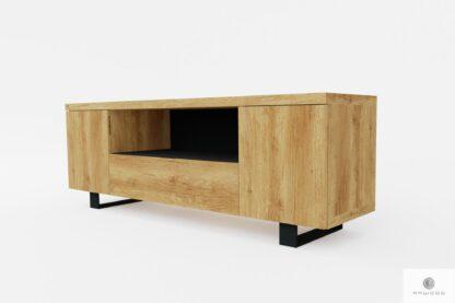 TV Konsole aus natürliche Massivholz ins Wohnzimmer DELIO