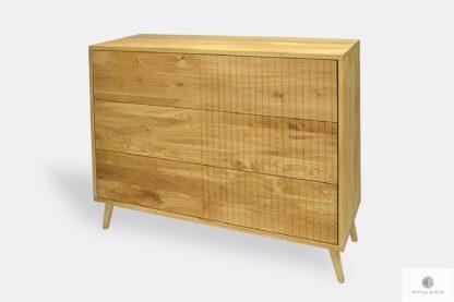 Kommoden aus Eichenholz mit Schubladen ins Wohnzimmer NESS