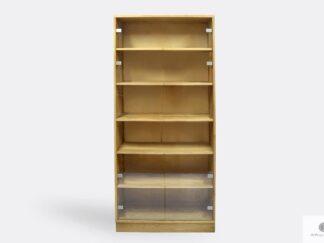Eiche Bücherschrank mit Regale ins Wohnzimmer Arbeitzimmer ANDORA