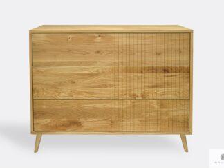 Stilvolle Eiche Kommode mit Schubladen ins Schlafzimmer Wohnzimmer NESS