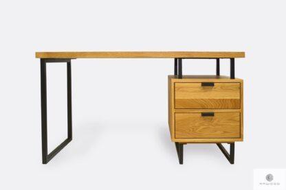 Schreibtisch aus Eichenholz ins Arbeitzimmer Kanzlei HUGON