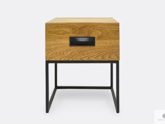 Eiche loft Nachttisch mit Schublade ins Schlafzimmer WALT II