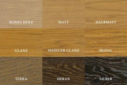 Holzmuster - Farben der Öle